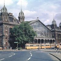 A Nyugati Pályaudvar a 70-es években