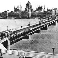 A Kossuth híd 1950-ben