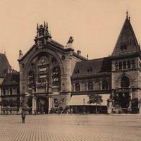 A Közonti Vásárcsarnok az 1900-as évek elején