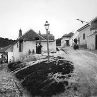 Tabán - Felsőhegy utca valamikor a századelőn