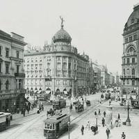 Az EMKE kávéház az 1900-as évek elején