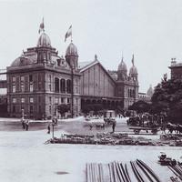 A Nyugati Pályaudvar 1896-ban