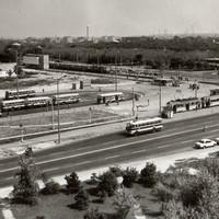 Az Örs Vezér tere a 60-as években