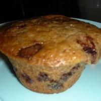 Aszalt szilvás, csokis muffin