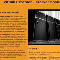 Mi a VPS szerver?