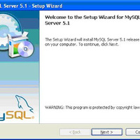 MySQL szerver telepítése laptopra
