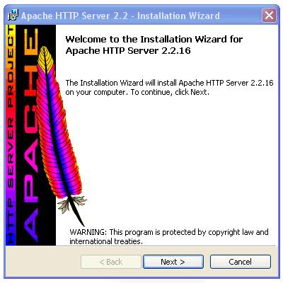 apache telepites laptop
