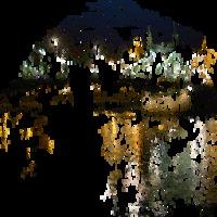 A meteor / 3. (2014) [GIF]