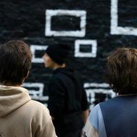 Tűzfalfestés a Kisfaludy utcában - Merge Invisible
