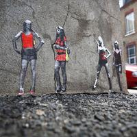 Miniatűr street art Kelet-London utcáin - Pablo Delgado