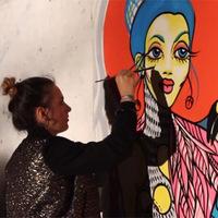 Jakócs Dorottya @ LIVEPAINT - Élő festés a Civilgyárban