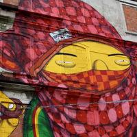 Hatalmas falfestmények Lisszabon elhagyatott épületein