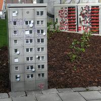 Elektromos dobozokból miniatűr panelházak - EVOL