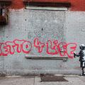 Banksy New Yorkban - Október 21. South Bronx