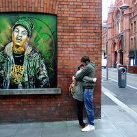 C215 Dublinban stencilezett