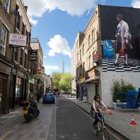 Új Conor Harrington falfestmény Londonban