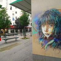 C215 új stencil festményei Párizsban