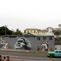 El Mac új falfestménye Havannában