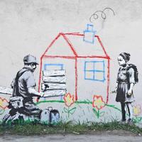 Banksy újabb munkái Los Angelesben
