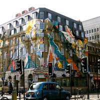 London legnagyobb falfestménye - The Megaro Project