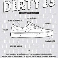 VANS x Dirty 13