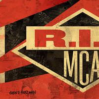 Shepard Fairey - RIP MCA plakát