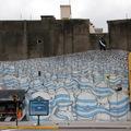 Blu új falfestménye Buenos Airesben
