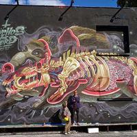 Nychos új falfestménye Berlinben
