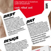 smART kreatív tervezői pályázat a Vodafone-tól