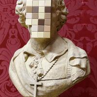 Banksy új szobrot leplezett le a liverpooli Walker Art Galleryben - Cardinal Sin