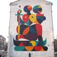 Remed új falfestménye Kijevben