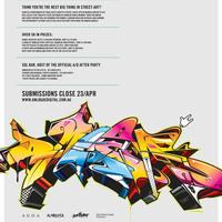 Nemzetközi graffiti/street art pályázat