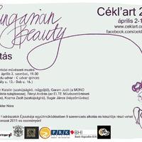 Cékl'art Hungarian Beauty 2011 kiállításmegnyitó