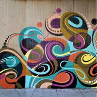 Kofie és Matt W. Moore falfestménye San Franciscoban