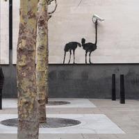 Banksy új munkái Londonban