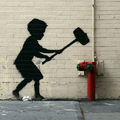 Banksy New Yorkban - Október 20. Upper West Side