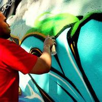 Párizs utcái - Lask (TWE Crew) - Graffiti Street Art
