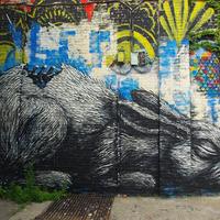 ROA - A Belga utcaművész hatalmas állatai