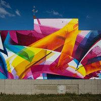 MadC új falfestménye Lipcsében - The 500 Wall