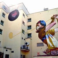 Új Sainer falfestmény Gdyinában