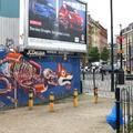 Nychos új falfestménye Londonban