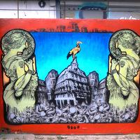 GG új festménye a Filán - Ordinary Mess