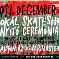 Lokál Skateshop nyitó ceremónia holnap!