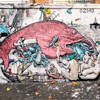 Ozmo legújabb falfestménye Londonban