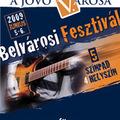 Belvárosi Fesztivál - Jún. 5-6 - V.ker számos helyén