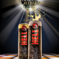HELL whisky HELL vodka