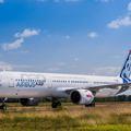 Budapesten járt a legújabb A321neo repülőgép!