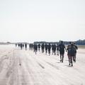 Ötödik alkalommal koptatták futócipők a repülőtéri kifutópályát