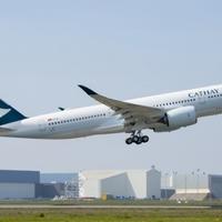 Teljesítette első repülését a Cathay Pacific legújabb Airbus A350-900-as gépe!