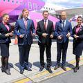 A Wizz Air elindította első asztanai járatát